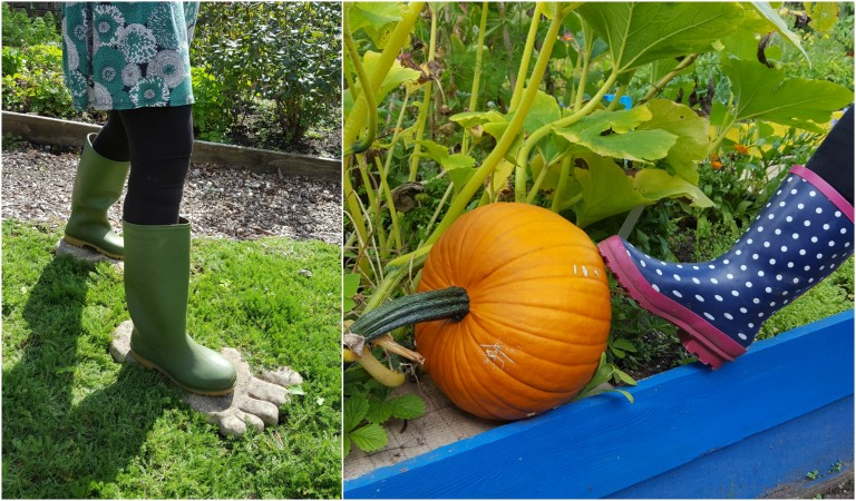 collage wellies 1